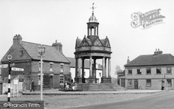 Boroughbridge, The Fountain, St James Square c.1955