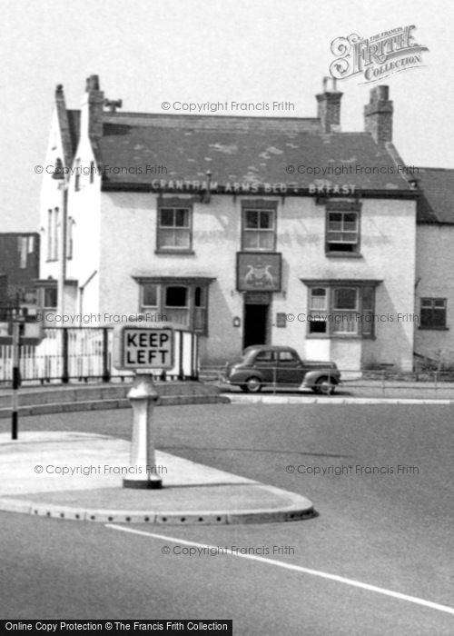 Photo of Boroughbridge, The Grantham Arms c.1955