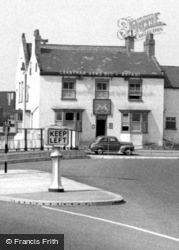 Boroughbridge, The Grantham Arms c.1955