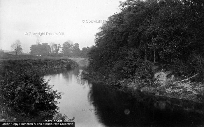 Photo of Boroughbridge, The River Ure 1895