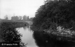 Boroughbridge, The River Ure 1895