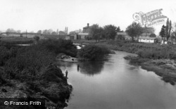 Boroughbridge, The River Ure c.1955