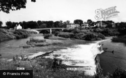 Boroughbridge, The River Ure c.1965