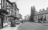 Boroughbridge, The Three Greyhounds Hotel c.1955