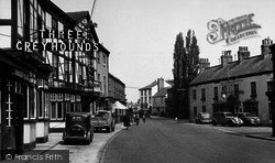Boroughbridge, The Three Greyhounds Hotel c.1955