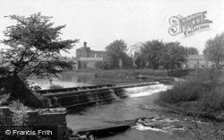 The Waterfall c.1955, Boroughbridge