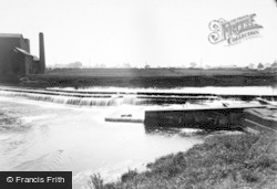Boroughbridge, The Weir c.1955