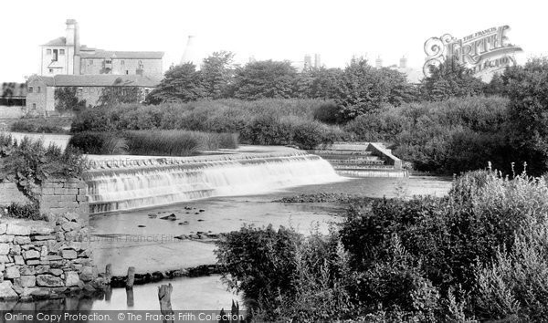Photo of Boroughbridge, Weir 1900