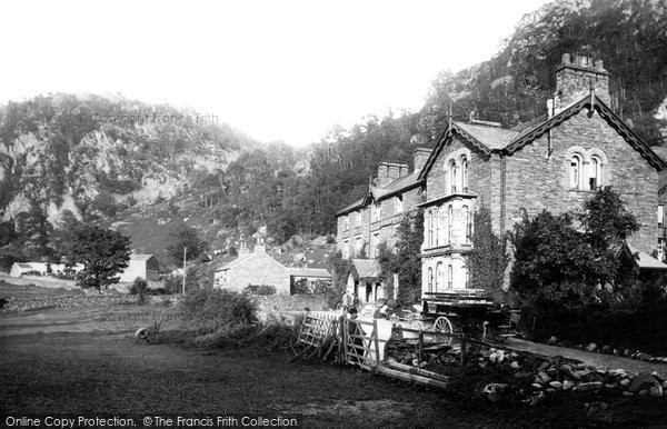 Borrowdale, the Borrowdale Hotel 1895.  (Neg. 36947)  � Copyright The Francis Frith Collection 2008. http://www.francisfrith.com