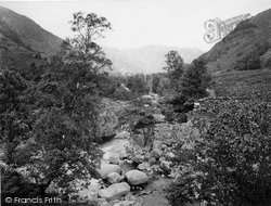 Borrowdale, View From Foot Of Eagle Crag c.1861