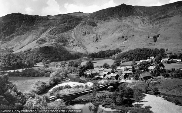 Borrowdale, Village c.1955