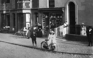 Borth, A Shop, Cambrian Terrace 1899