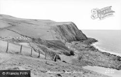 Borth, Aberwenol Bay c.1960