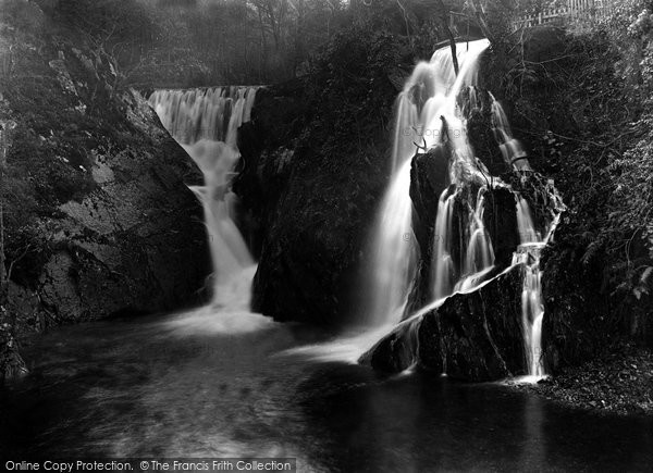 Borth, Artist's Valley Waterfall 1935