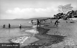 Bathing c.1950, Borth