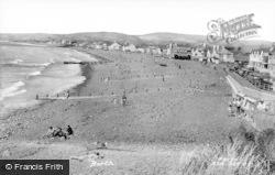 Borth, Beach c.1965