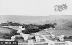 Borth, Brynowen Caravan Park c.1960