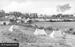 Borth, Brynowen Farm Camp c.1950