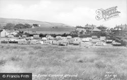 Brynowen Farm Camping Ground c.1955, Borth