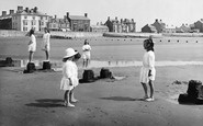 Borth, Children On The Beach 1922