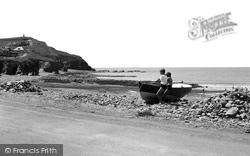 Borth, Craig-Y-Wylfa c.1955
