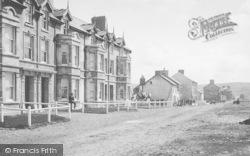 Borth, Esplanade 1895