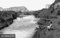 Fishing On The River Leray 1938, Borth