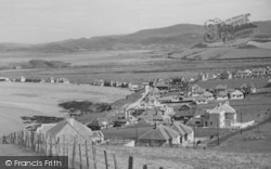 Borth, From The Cliffs c.1950