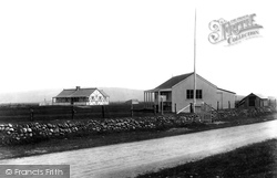 Borth, Golf Club House And Bungalow 1903