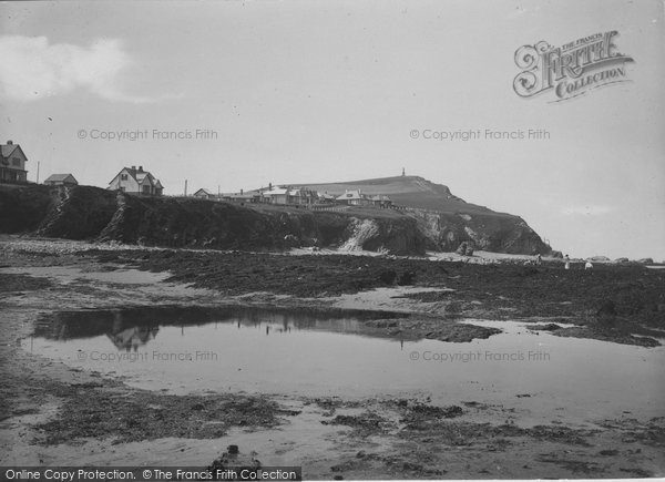 Borth, Head And Monument 1934