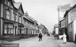 Borth, High Street 1921