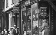 Borth, Shop In The High Street 1952