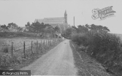 Borth, St Matthew's Church 1933