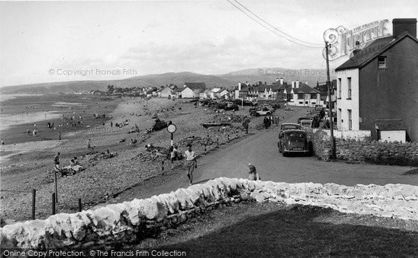 Borth, The Bay c.1955