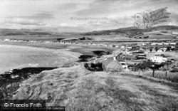 Borth, The Bay c.1960