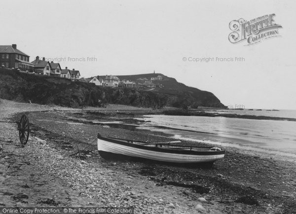 Borth, The Beach 1937