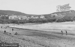 Borth, The Beach 1949