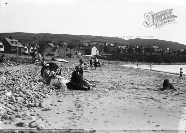 Borth, The Beach c.1933