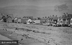 The Beach c.1933, Borth