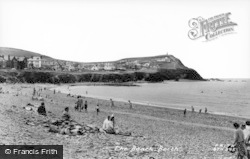 Borth, The Beach c.1960
