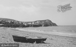 Borth, The Cliff 1938