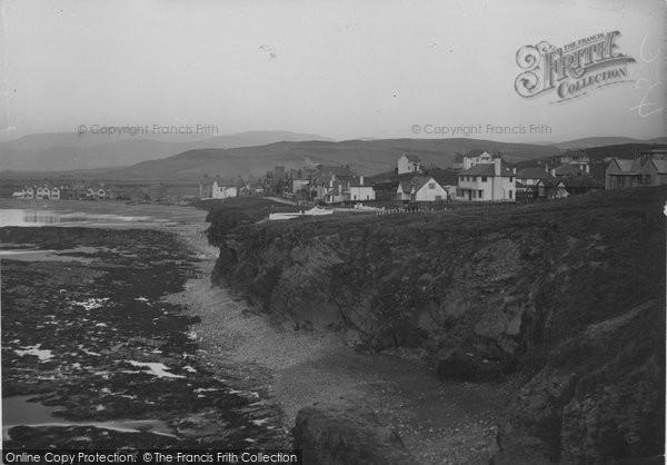Borth, The Cliffs 1936