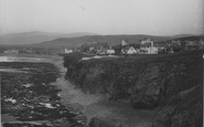 Borth, The Cliffs 1936