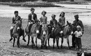Borth, The Donkeys 1952