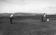 Borth, The Golf Course c.1955