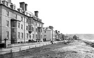 Borth, The Grand Hotel And Beach 1921