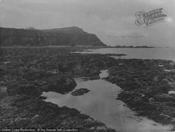 Borth, The Rocks And Monument 1930