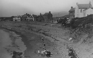 Borth, Under The Cliff c.1933