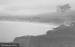 Borth, View From Borth Head 1925