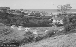 Borth, View From Brynowen Farm c.1950